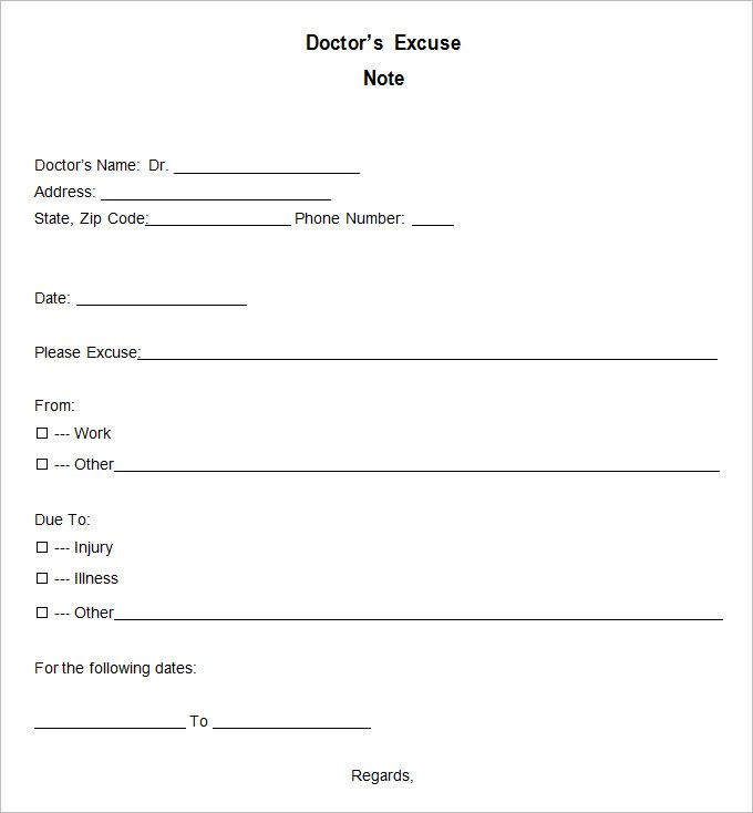 Pdf Dr Note Template