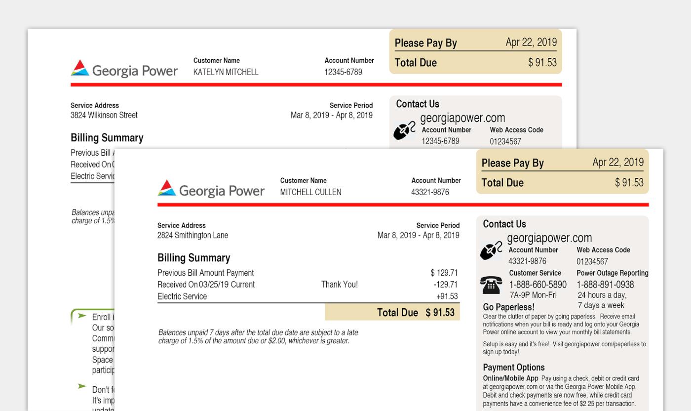 Pdf Fake Utility Bill