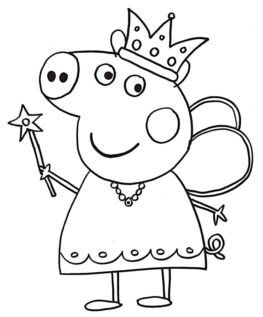 Peppa Pig Coloring Book For Kids Pdf