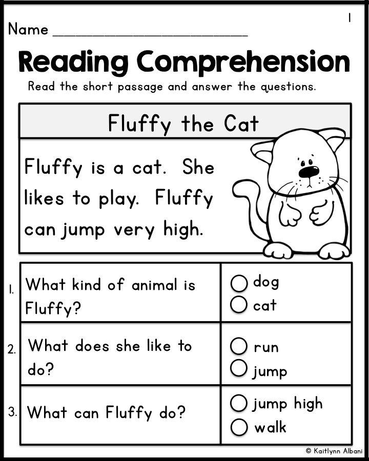 Pinterest Reading Comprehension For Grade 1 Pdf