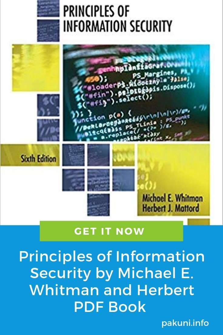 Principles Of Information Security 6th Edition Pdf Free Download