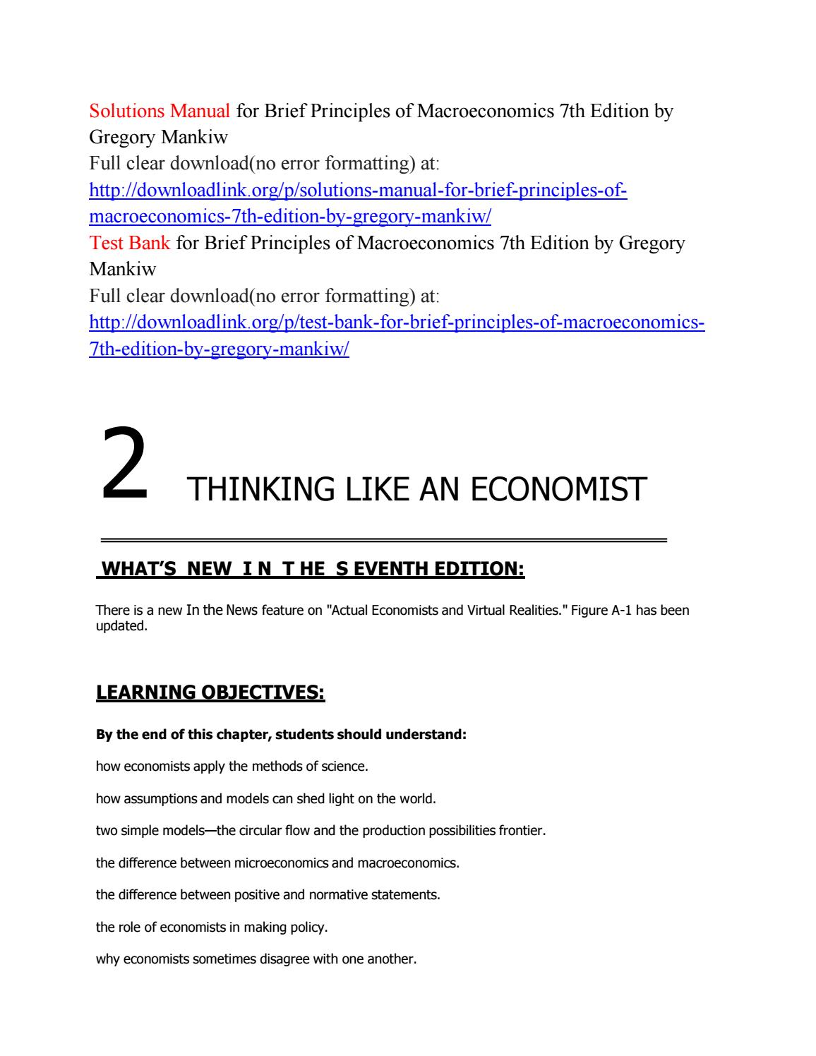 Principles Of Macroeconomics 8th Edition Answer Key Pdf