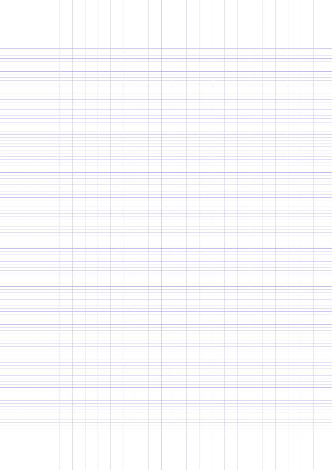 Printable French Ruled Paper Pdf