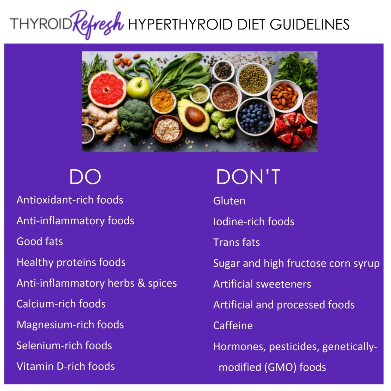 Printable Hyperthyroidism Diet Plan Pdf
