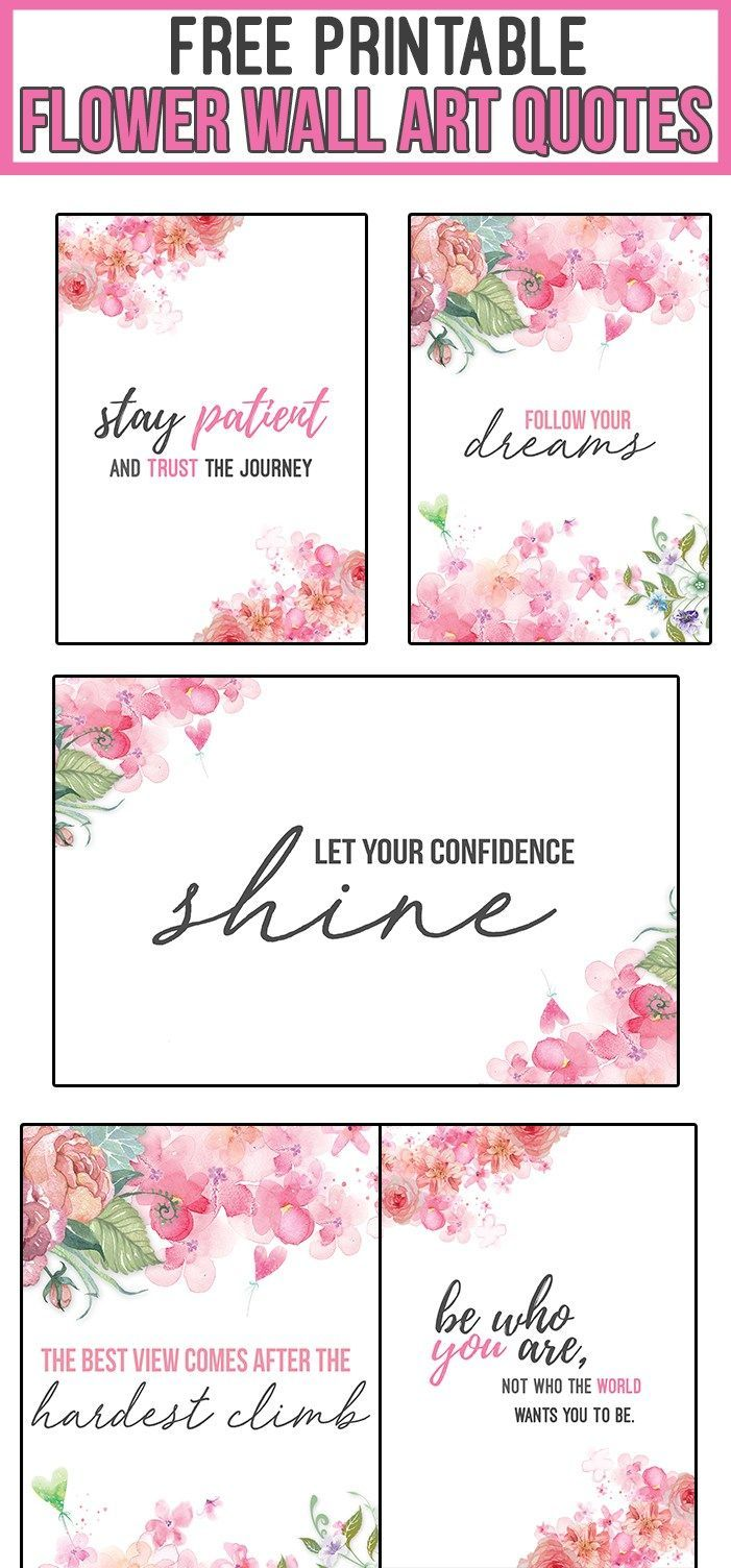 Printable Wall Free Printable Quotes Pdf