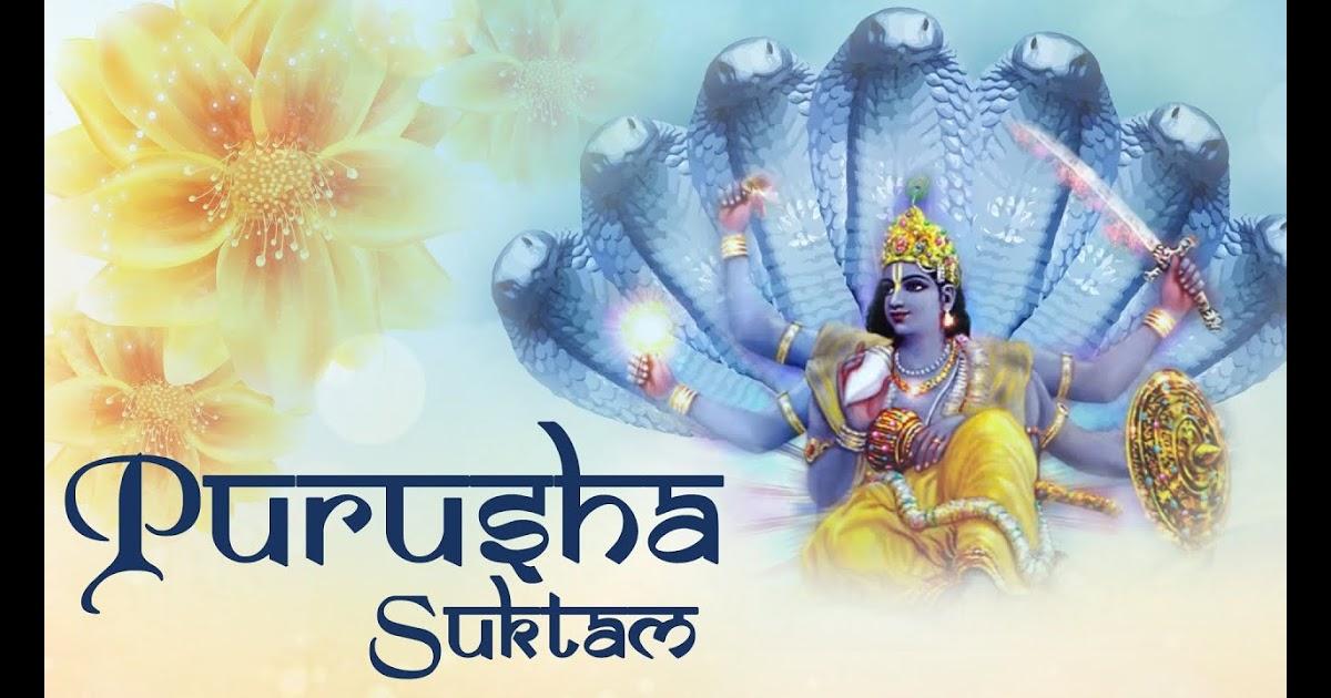 Purusha Suktam Malayalam Meaning Pdf