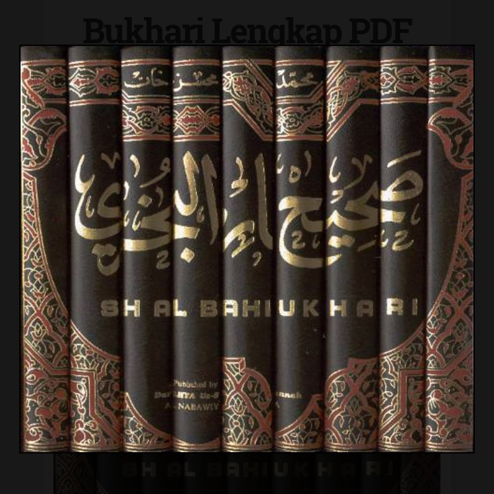Sahih Bukhari Pdf Download