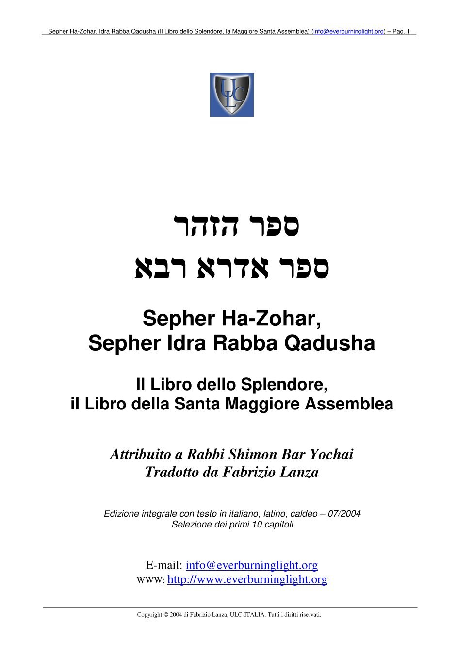 Sefer Yetzirah Pdf Work Of The Chariot