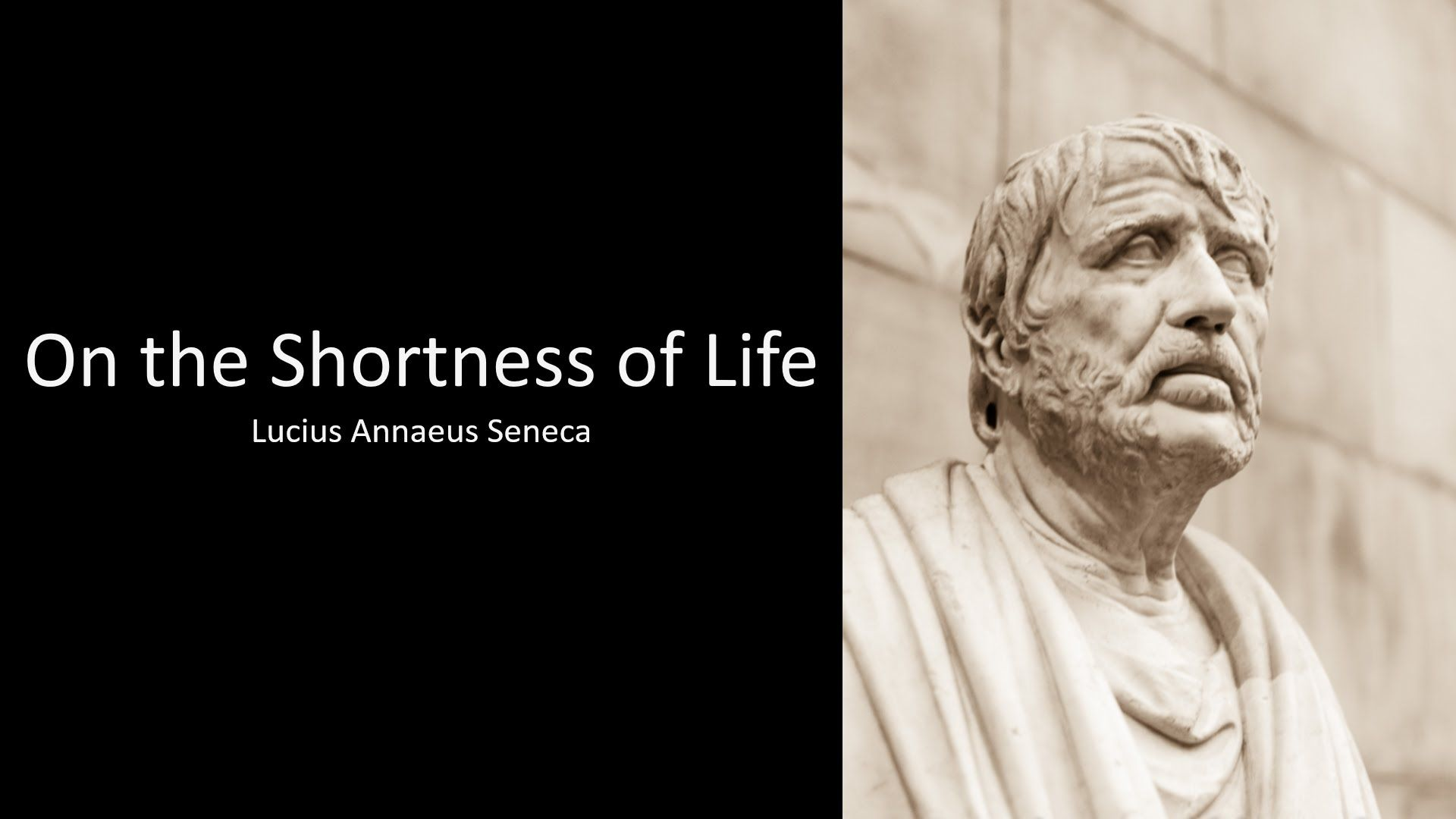 Seneca On The Shortness Of Life Pdf