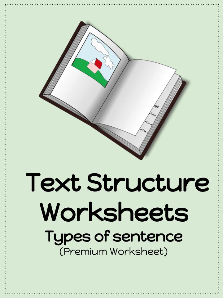 Sentence Structure Worksheets Pdf