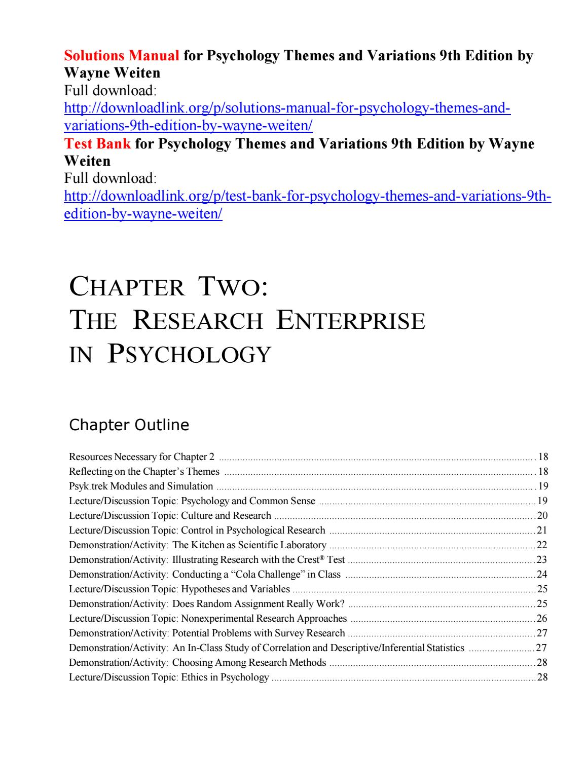 Social Psychology 9th Edition Pdf Free