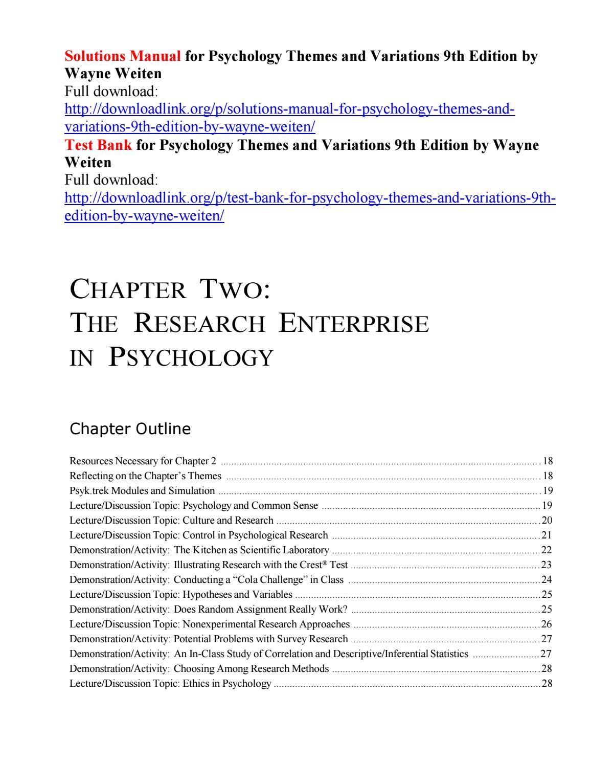 Social Psychology 9th Edition Pdf Free