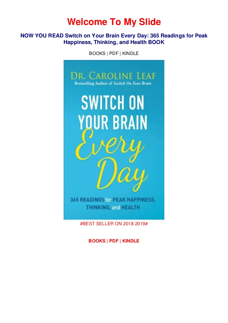 Switch On Your Brain Pdf