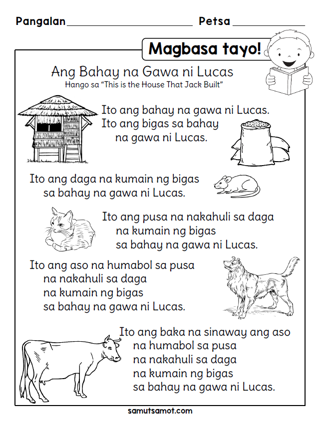 Tagalog Reading Comprehension For Grade 1 Pdf