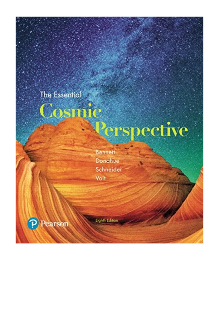 The Essential Cosmic Perspective 8th Edition Pdf