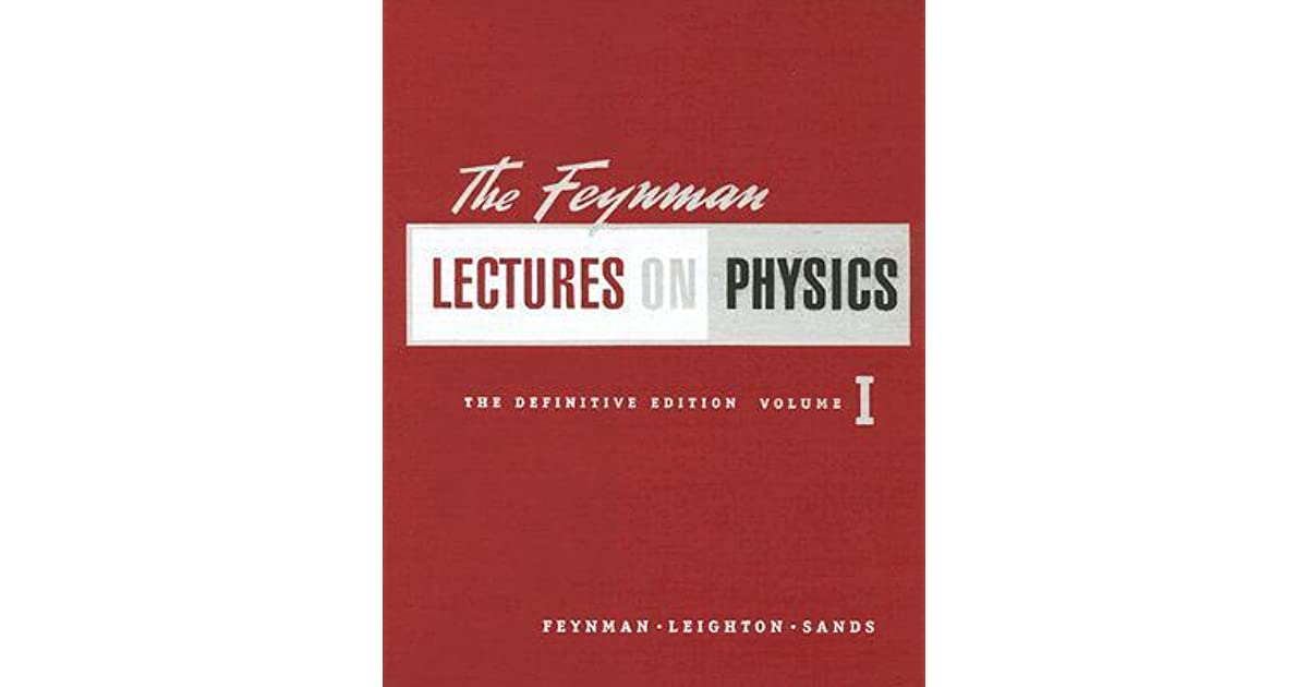 The Feynman Lectures On Physics Pdf Drive