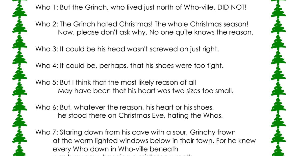 The Grinch Book Pdf