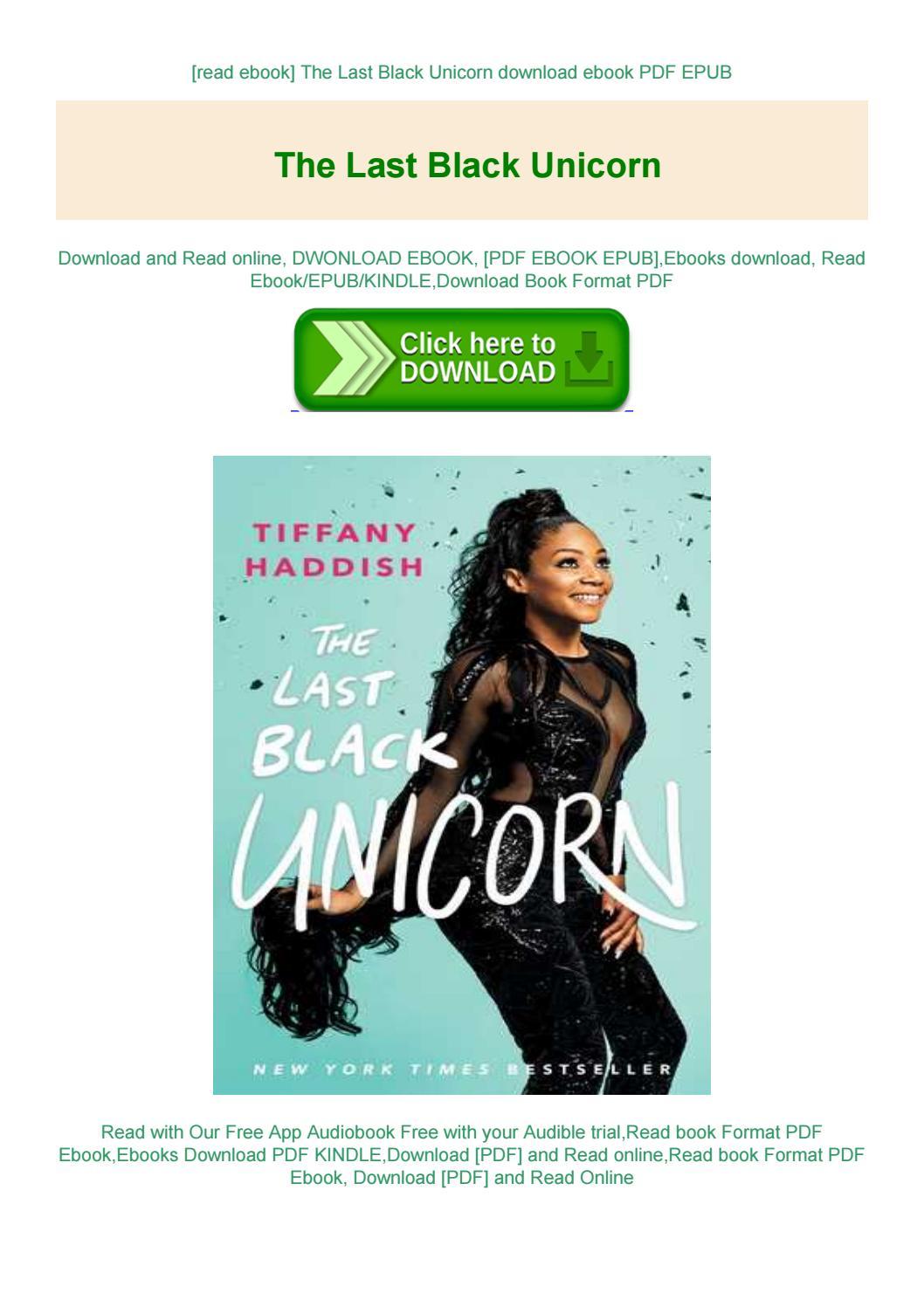 The Last Black Unicorn Pdf Download