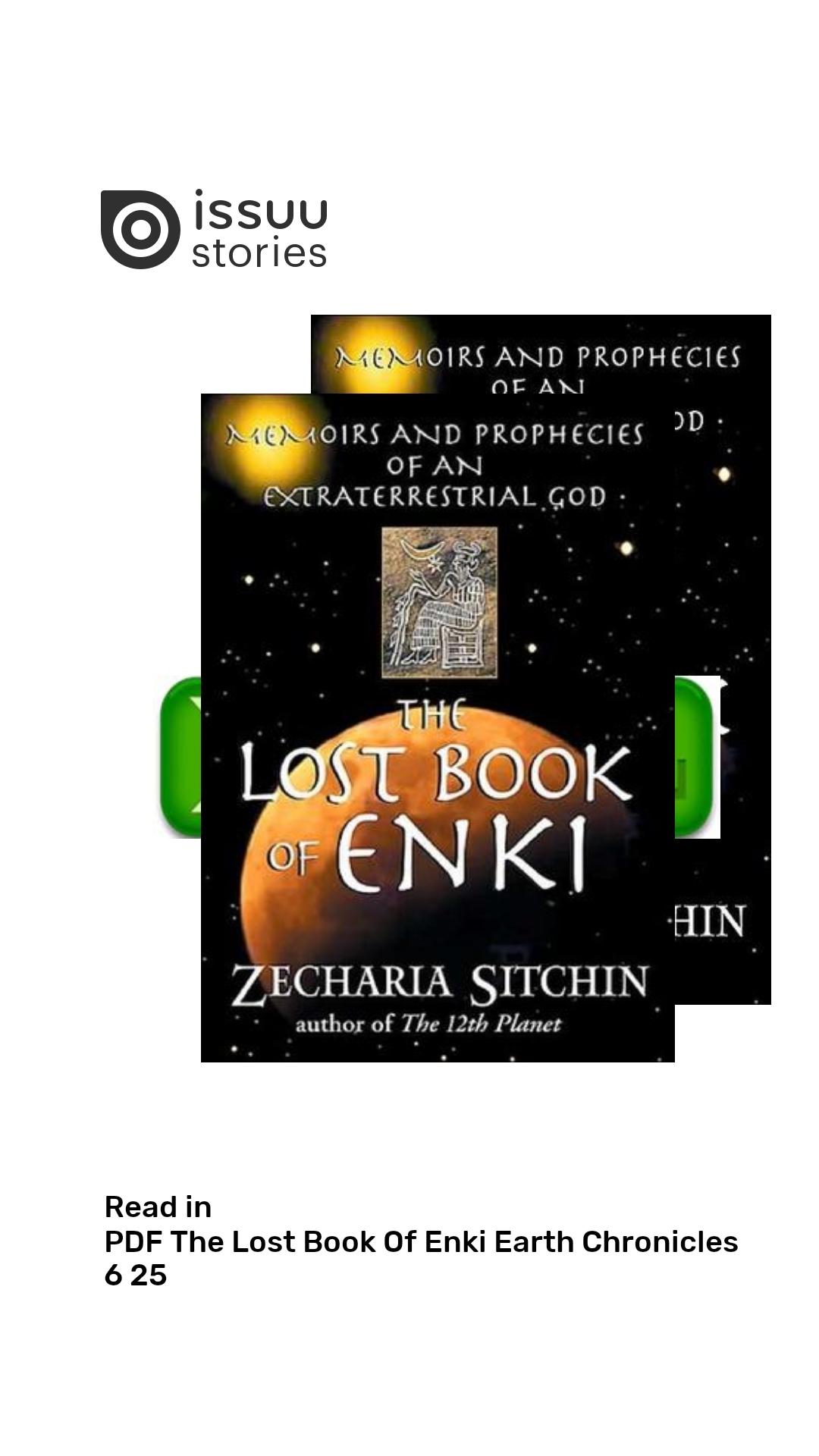 The Lost Book Of Enki Pdf