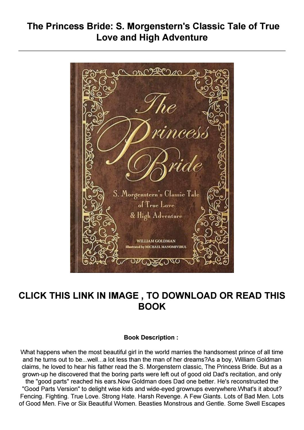 The Princess Bride Book Pdf