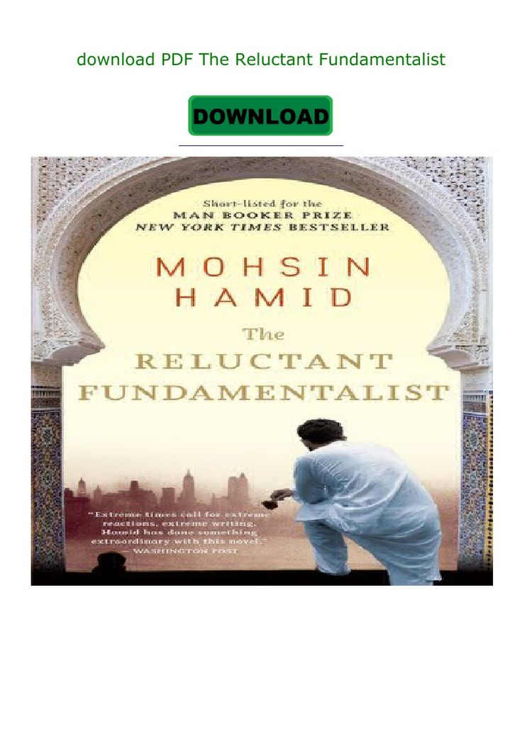 The Reluctant Fundamentalist Pdf