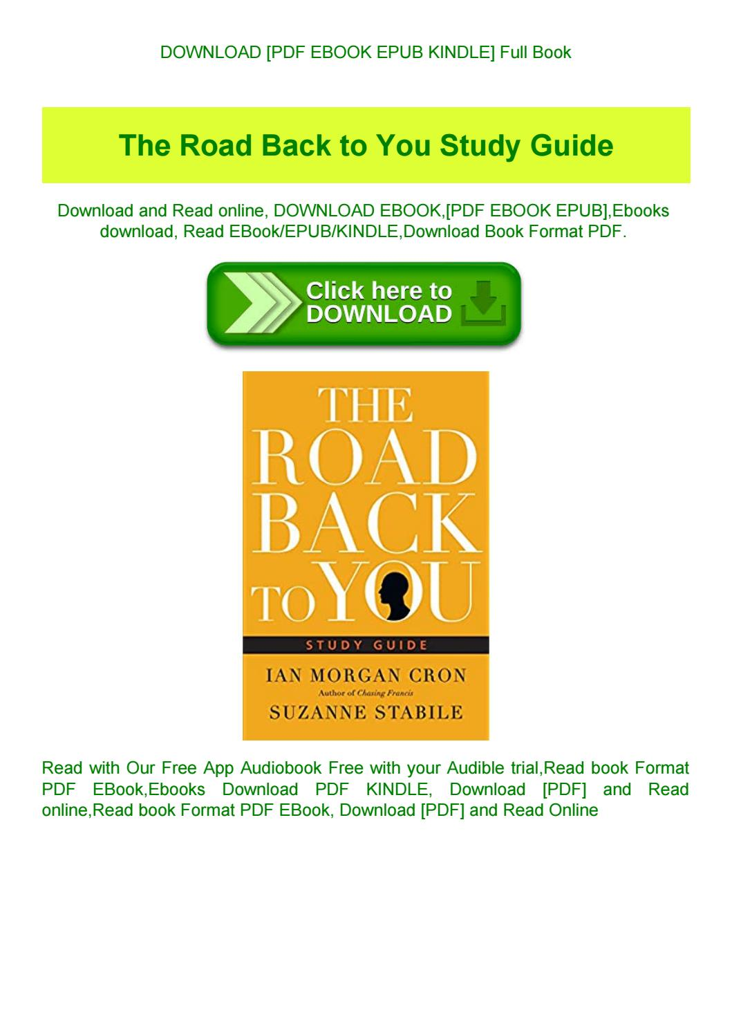The Road Back To You Pdf Free Download