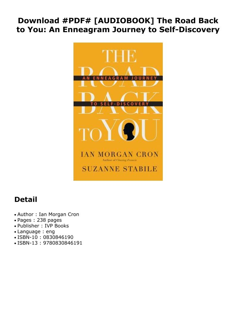 The Road Back To You Pdf