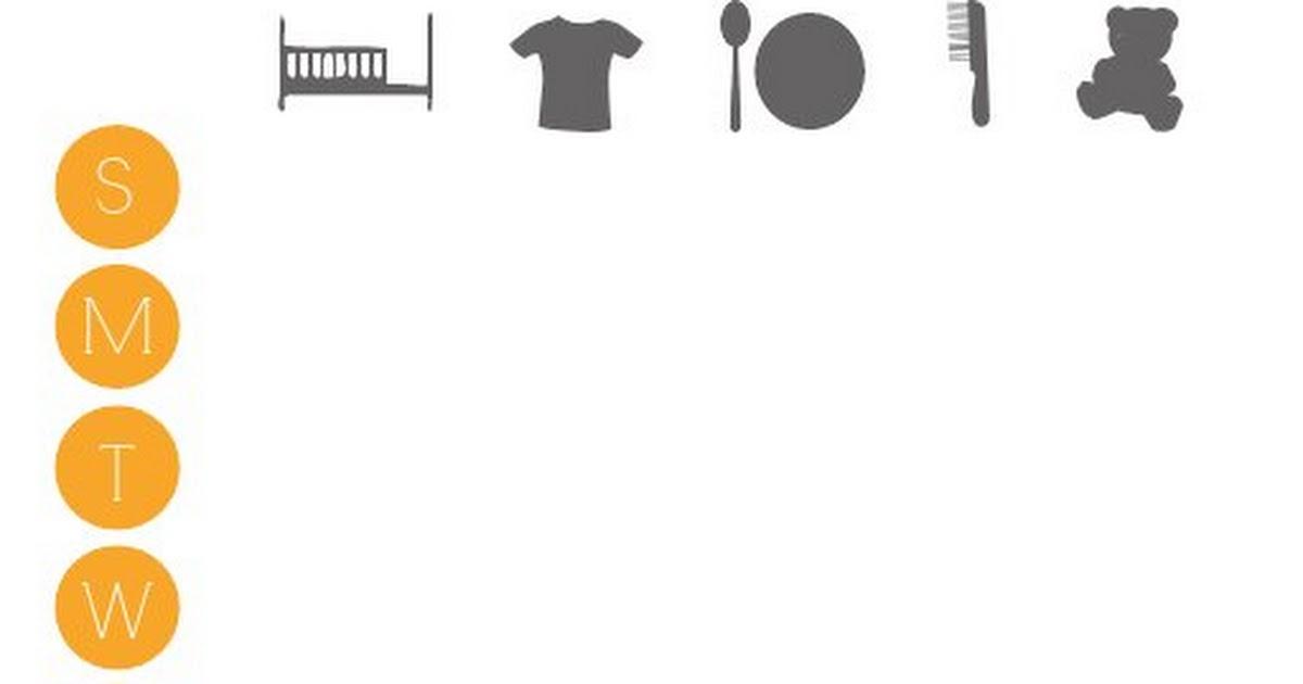 Toddler Chore Chart Pdf