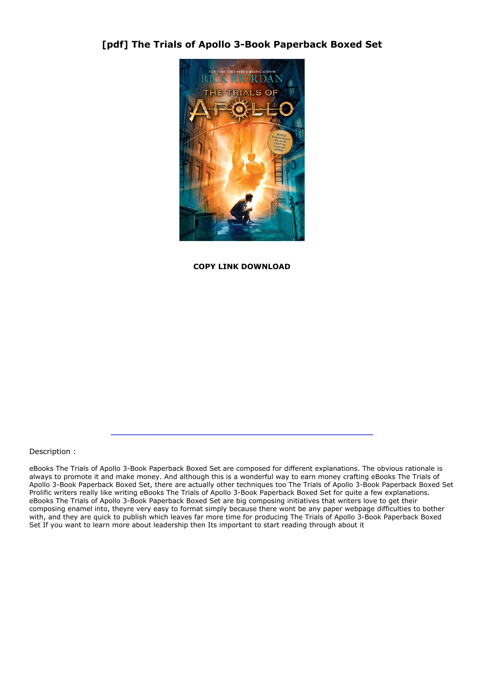 Trials Of Apollo Book 3 Pdf