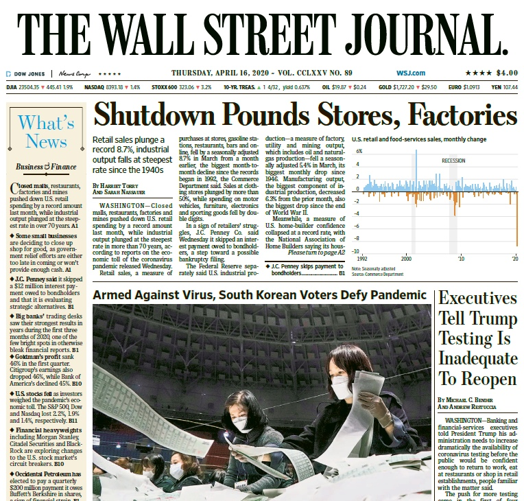 Wall Street Journal Pdf Download Free
