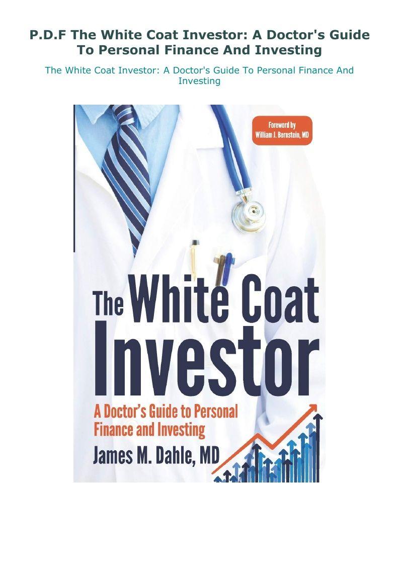White Coat Investor Pdf