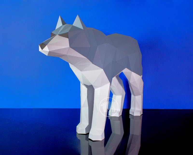 Wolf Free Papercraft Templates Pdf