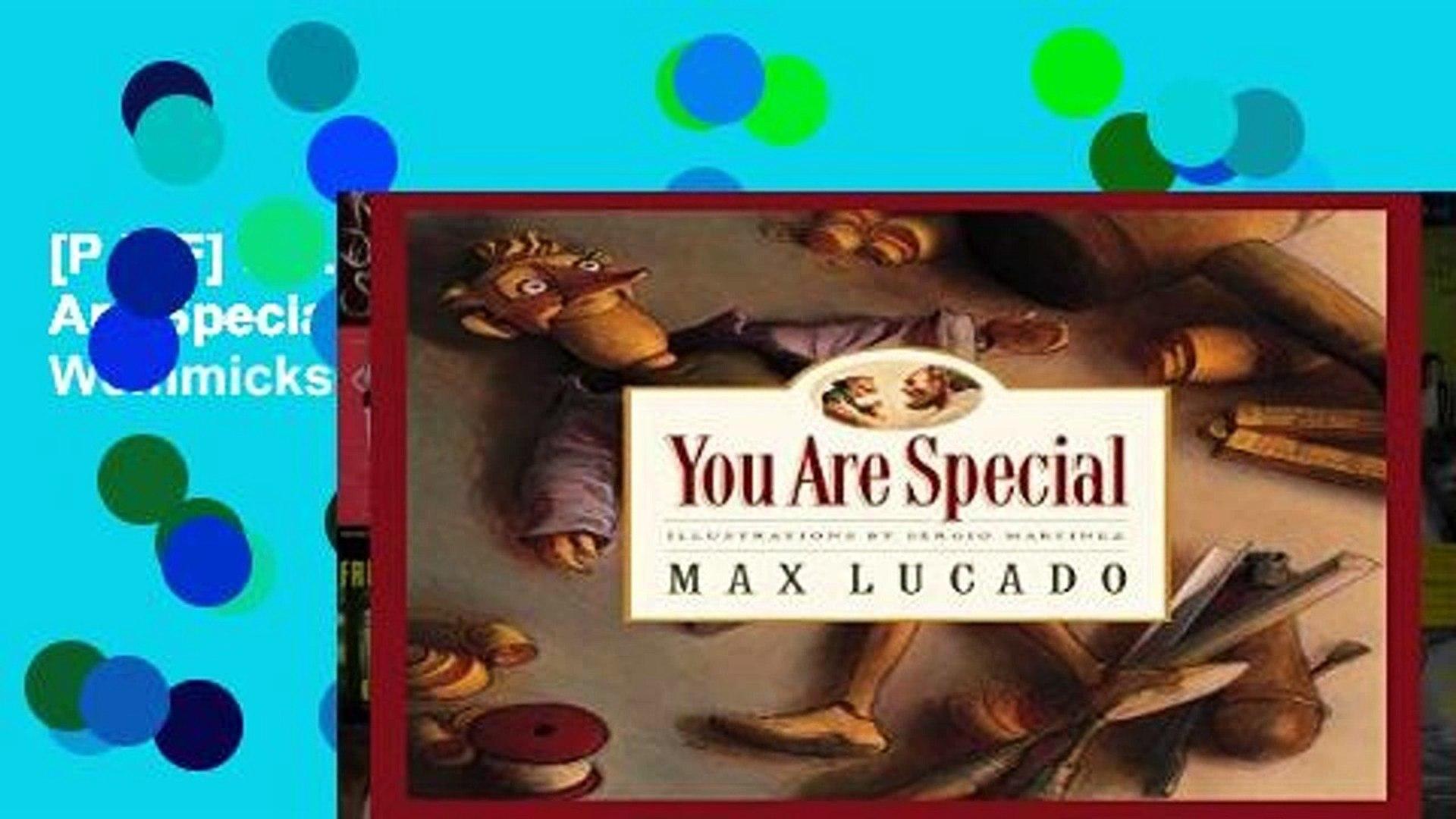 You Are Special Max Lucado Pdf