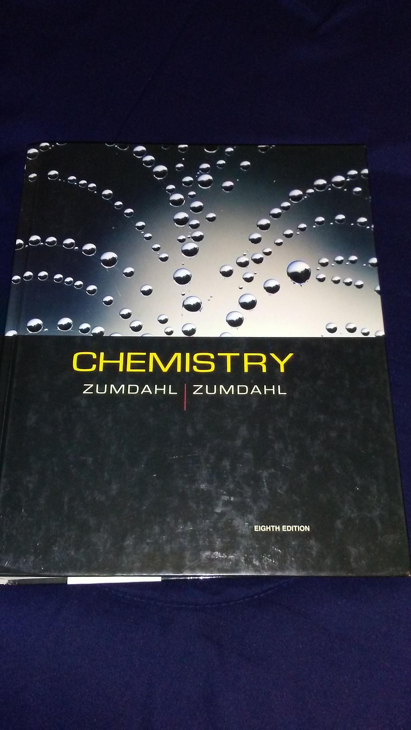 Zumdahl Chemistry 8th Edition Pdf Free Download