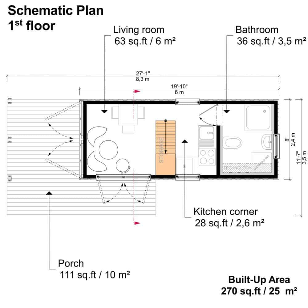 20 Ft Container House Plans Pdf