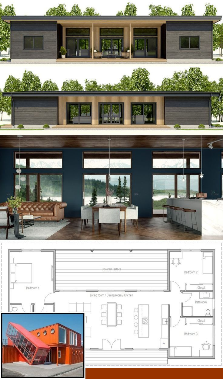 3 Bedroom Container House Plans Pdf