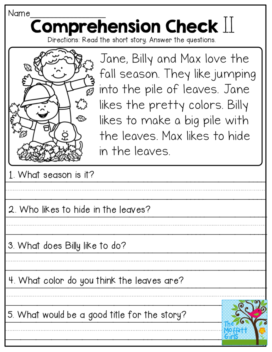 3rd Grade Story Elements Worksheet Pdf