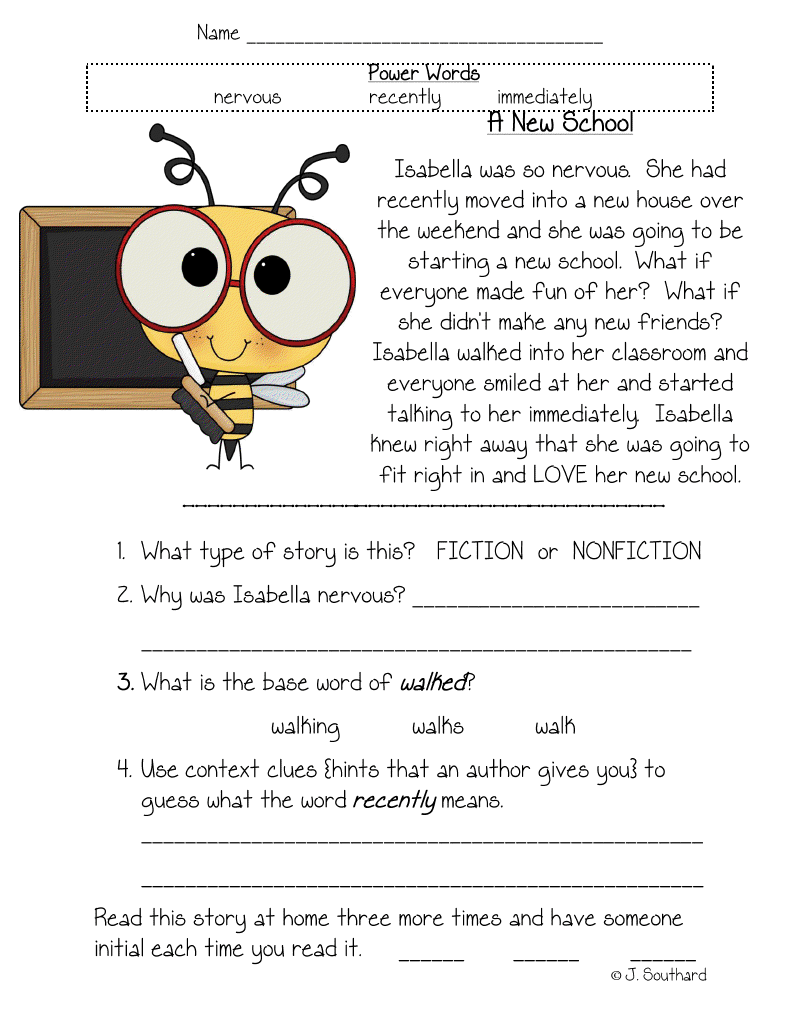 6th Grade Story Sequencing Worksheets Pdf