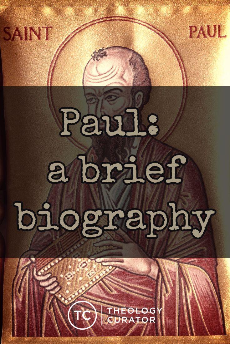 Apostle Paul Biography Pdf