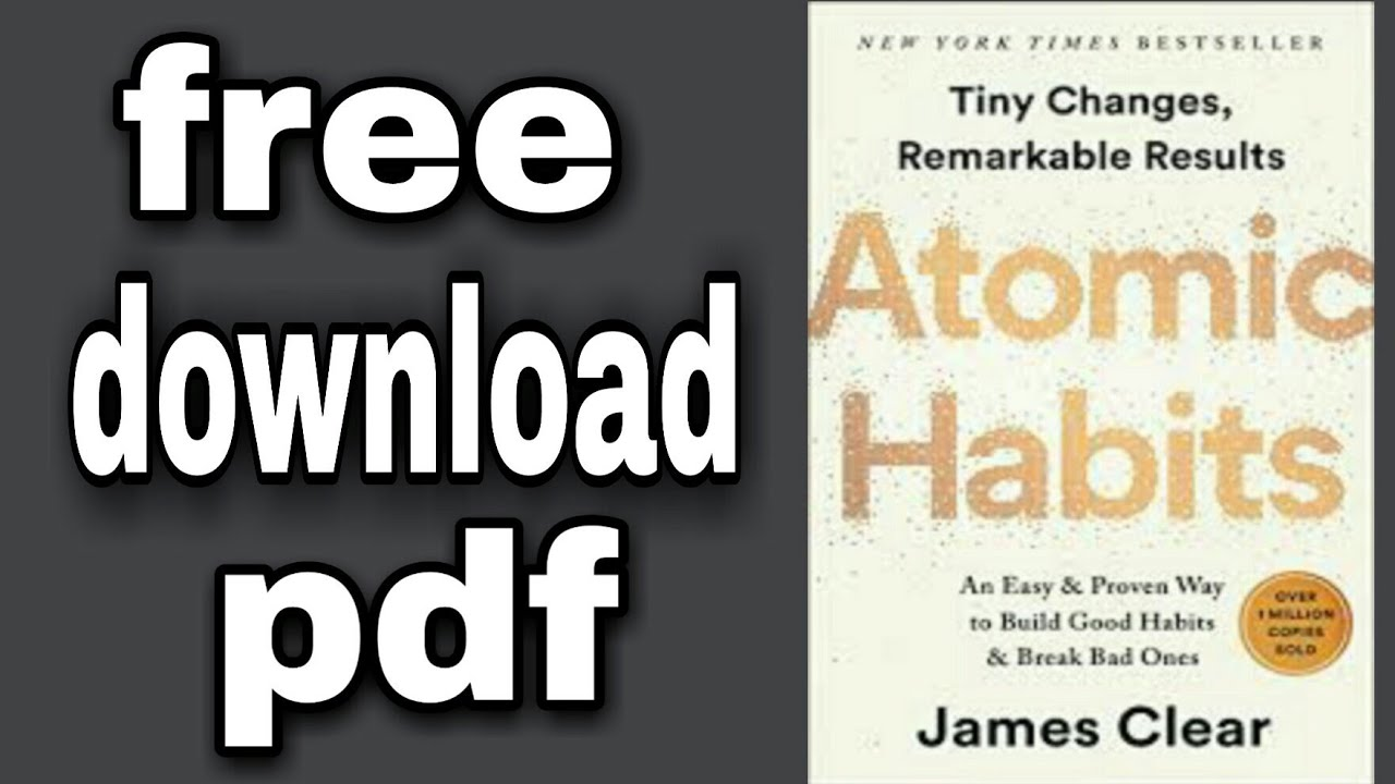 Atomic Habits Book Pdf Free Download