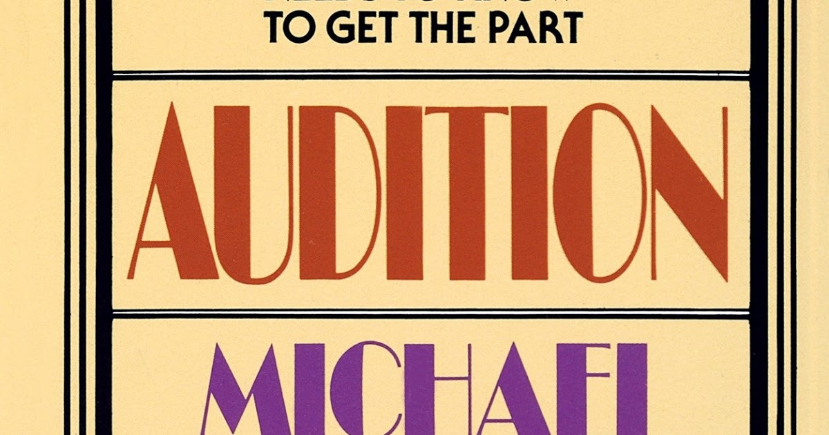 Audition By Michael Shurtleff Pdf Free Download