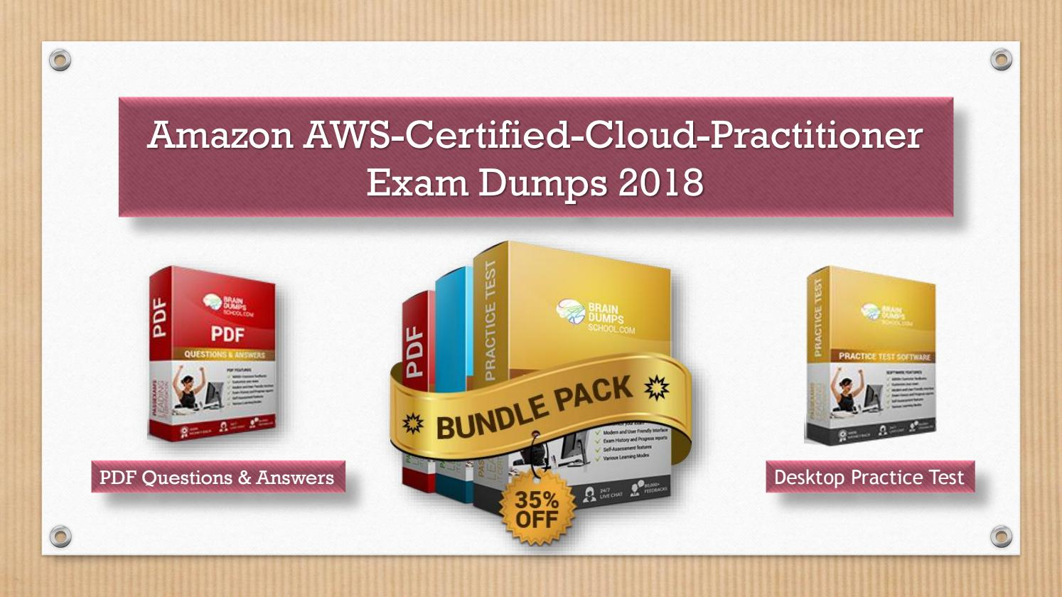 Aws Cloud Practitioner Exam Questions Pdf Free