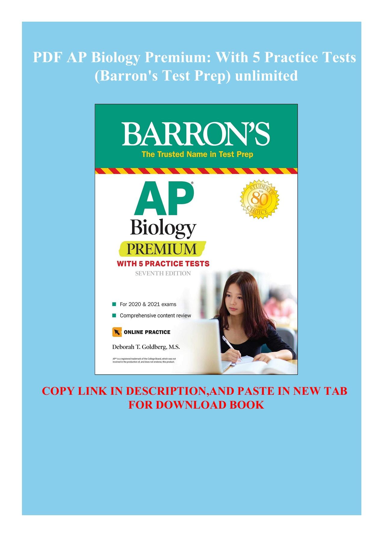Barron's Ap Biology Pdf