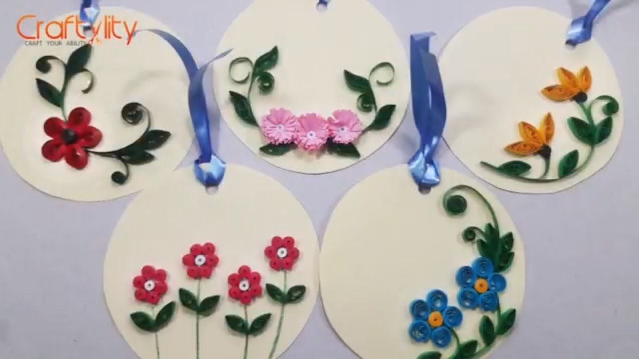 Beginner Paper Quilling Patterns Free Pdf