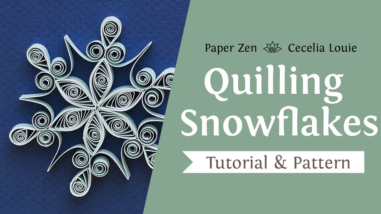 Beginner Printable Paper Quilling Patterns Free Pdf