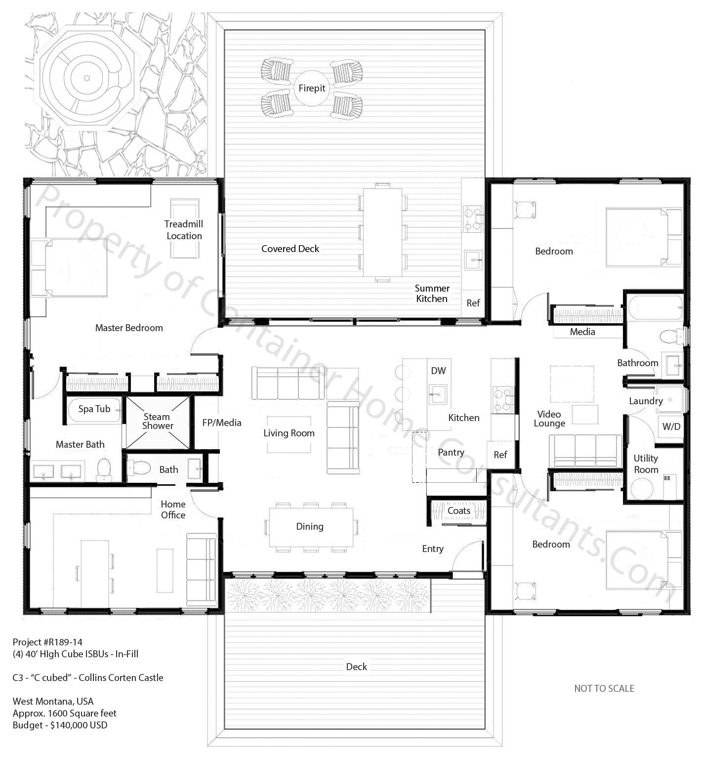 Blueprint Container House Plans Pdf