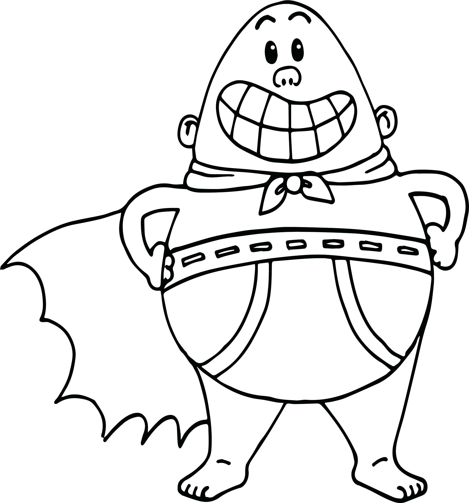 Captain Underpants Coloring Pages Captain Underpants Coloring Pages Coloring Pages