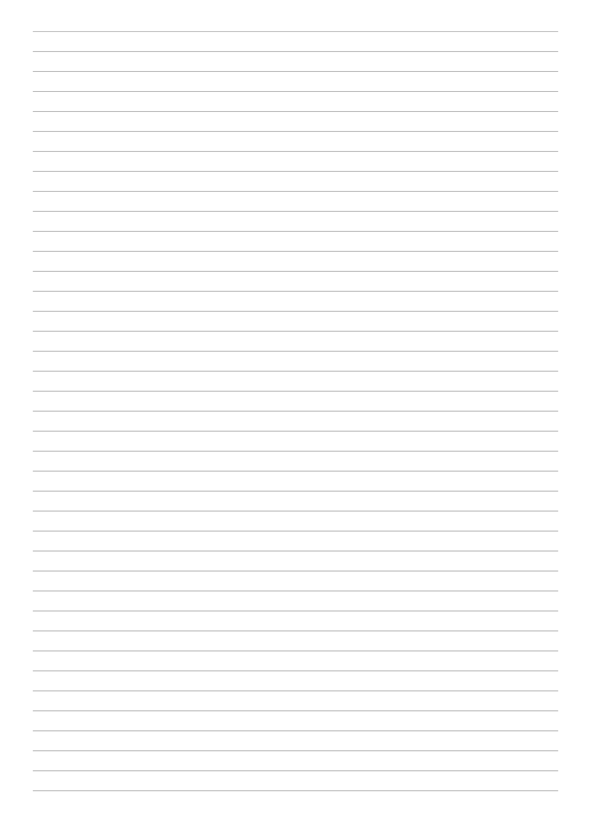 College Ruled Lined Paper Template Pdf