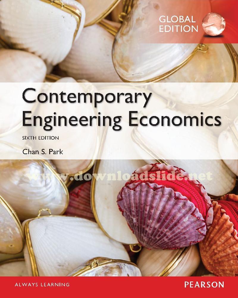 Contemporary Engineering Economics 6th Edition Pdf