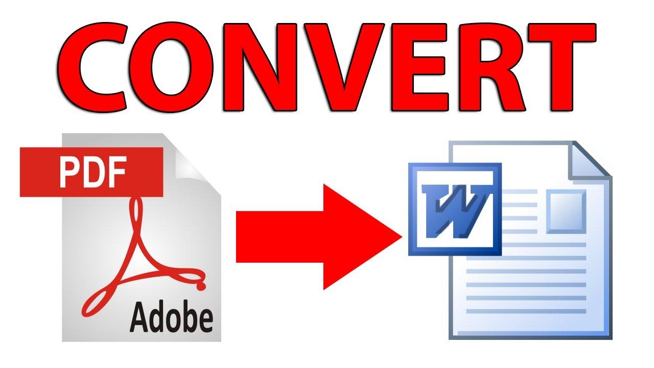 Conversor De Pdf Para Word Gratis